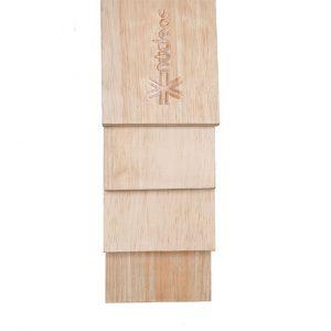 Tabla Piso 3.0 m x 8.0 cm x 1.8 cm Moldurada