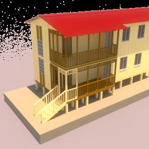 Casa Centro Dos Niveles